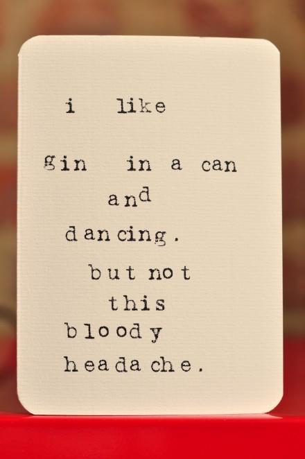 Gin & dancing copy