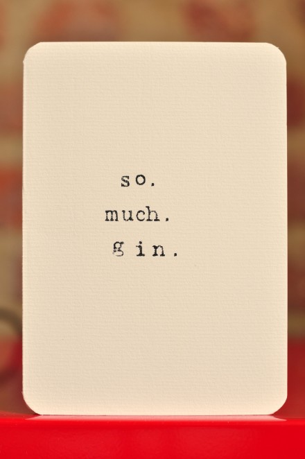 So much gin copy