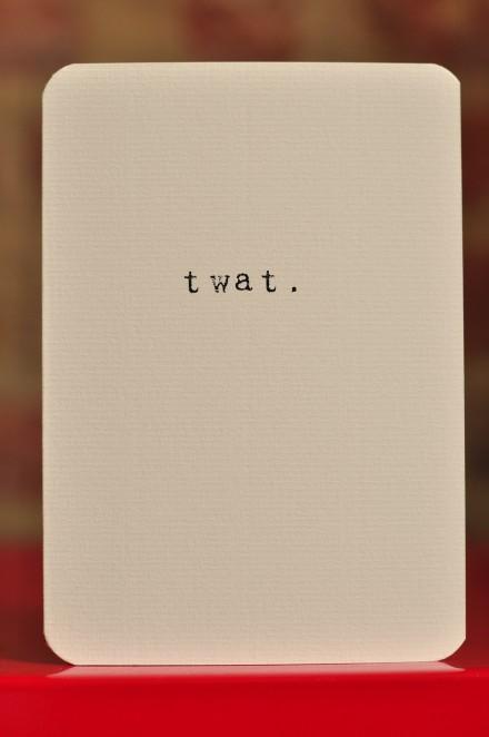 Twat copy