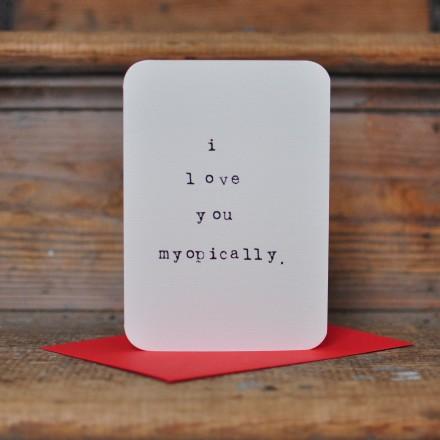 Myopically