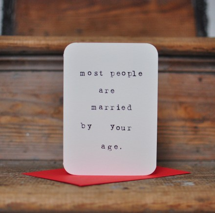 most people are married