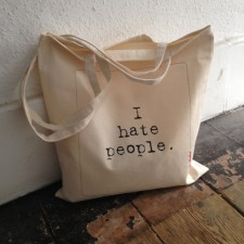 I hate people tote V1