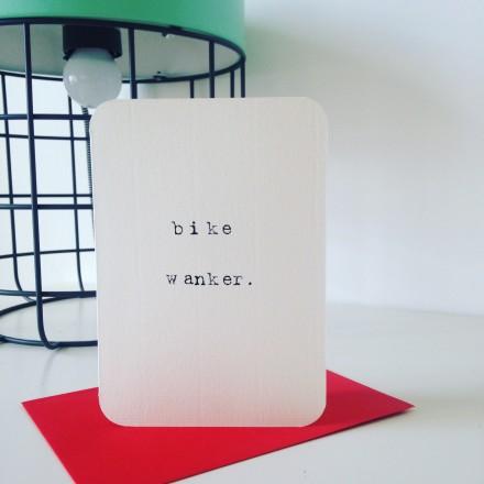 bike wanker